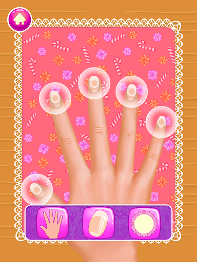 Nail Salon : princess 1.0.9 screenshots 1