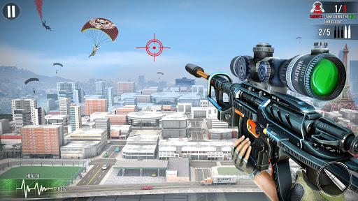 New Sniper Shooter: Free Offline 3D Shooting Games  screenshots 1
