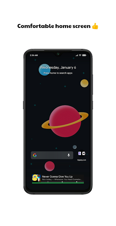 Milky Launcher Pro 🔹 Beautiful, Clean, Fresh 🌌  poster 0