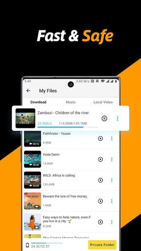 Video Downloader, Private File Downloader & Saver apktram screenshots 3