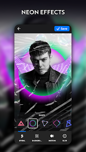 NeonArt Photo Editor  Photo Effects, Collage Maker Apk Download 2021 3