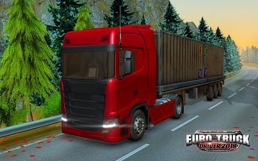 Code Triche Euro Truck Driver - 2018 (Astuce) APK MOD screenshots 1