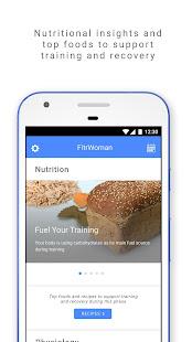 FitrWoman – Period Tracker, Training & Nutrition