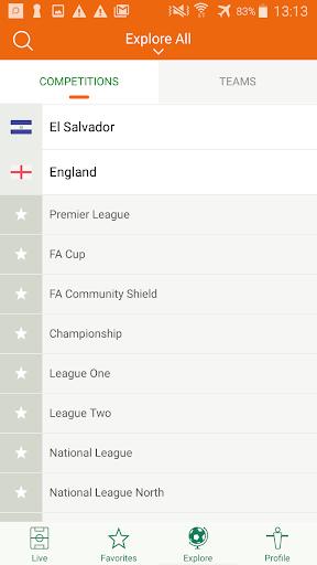 Futbol24 u2013 soccer live scores & results 2.46 Screenshots 3