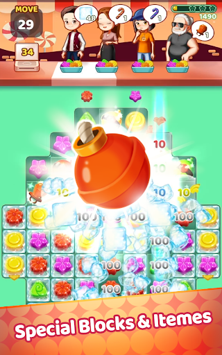 Sweet Jelly Pop 2021 - Match 3 Puzzle 1.0 screenshots 2