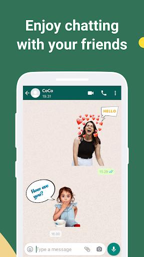 iSticker - Sticker Maker for WhatsApp stickers screenshots 8