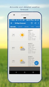 Weather & Clock Widget for Android 5