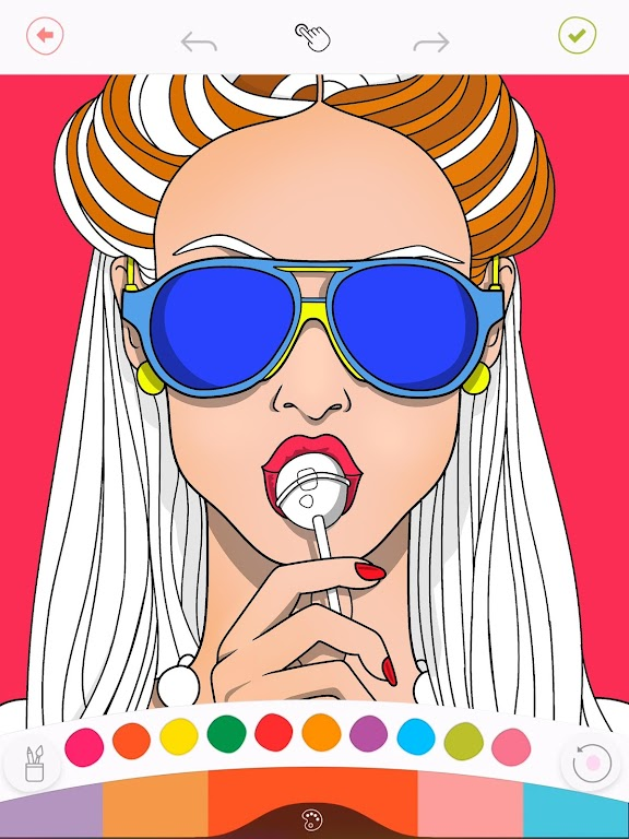 Colorfy: Free Coloring Games - Paint Color Book poster 1