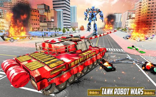 Tank Robot Car Game 2020 u2013 Robot Dinosaur Games 3d screenshots 9