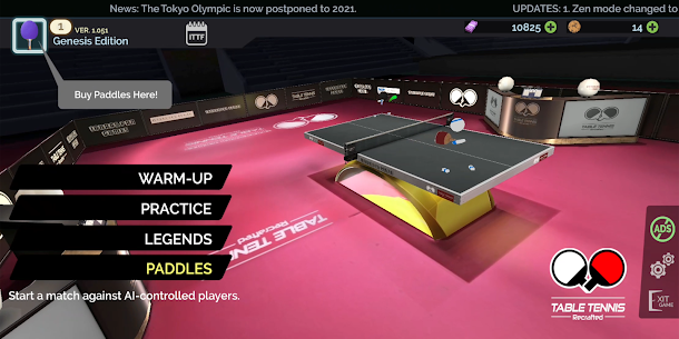 Table Tennis ReCrafted! 1.062 Apk 1