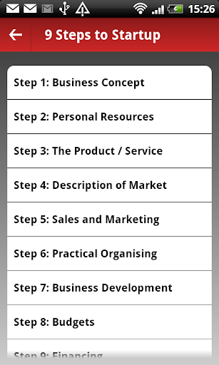 Foto do Business plan guide and tools for entrepreneurs