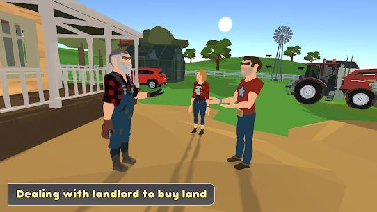 Virtual Farm Life Simulator  Family House Games Apk 4