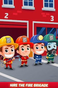 Idle Firefighter Tycoon APK , Fire Emergency Manager APK Download 4