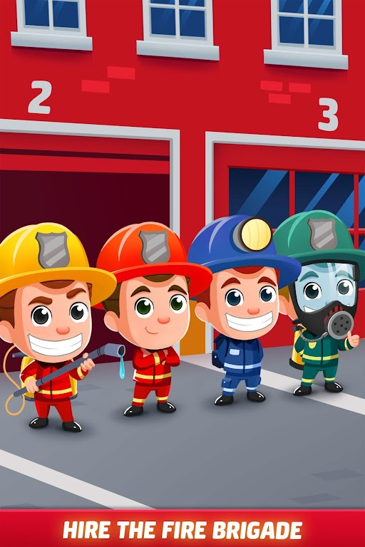Idle Firefighter Tycoon - Fire Emergency Manager  poster 3