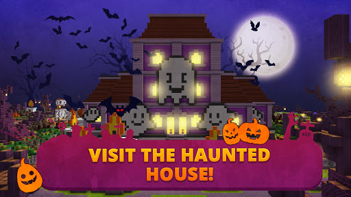 Scary Theme Park Craft: Spooky Horror Zombie Games 1.13-minApi19 Screenshots 3