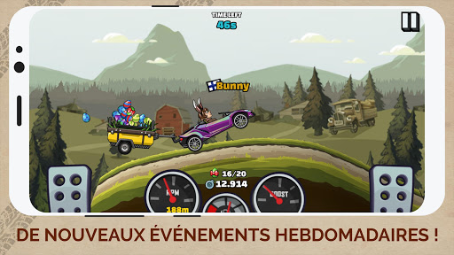 Code Triche Hill Climb Racing 2 (Astuce) APK MOD screenshots 5