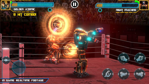 Real Robot Ring Boxing screenshots 11
