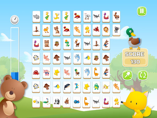 Connect Animals : Onet Kyodai (puzzle tiles game)  screenshots 6