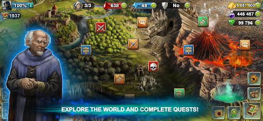 Blood of Titans: Quest & Battle Fantasy ccg 1.19 screenshots 8