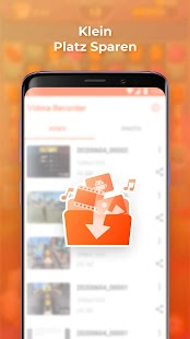 Video Bildschirmaufnahme - Vidma Screen Recorder Screenshot
