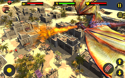 Flying Dragon City Attack 1.0.16 screenshots 9