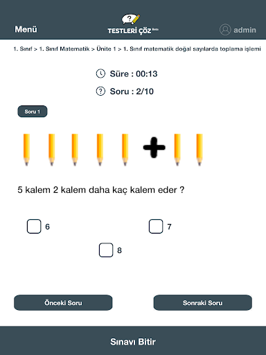 Testleri u00c7u00f6z 0.4.4 Screenshots 11
