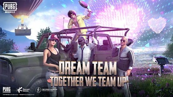 PUBG MOBILE - DREAM TEAM Screenshot