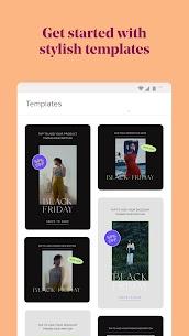 Over: Add Text to Photos & Graphic Design Maker Mod Apk v5.8.4 1