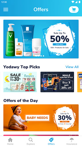 Yodawy - Pharmacy Delivery App 2.1.0 Screenshots 3