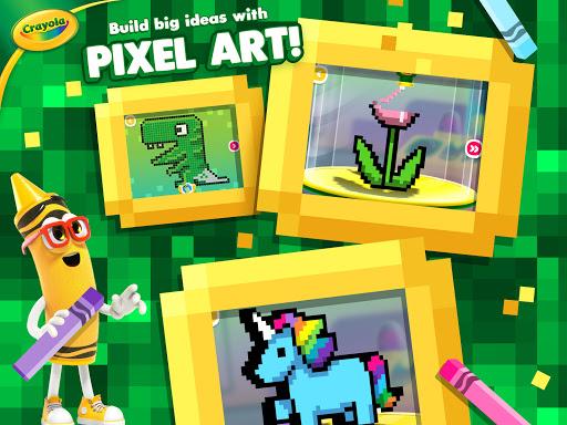 Crayola Create & Play: Coloring & Learning Games  screenshots 10