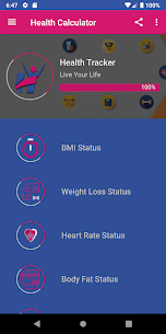 Health Calculator 1