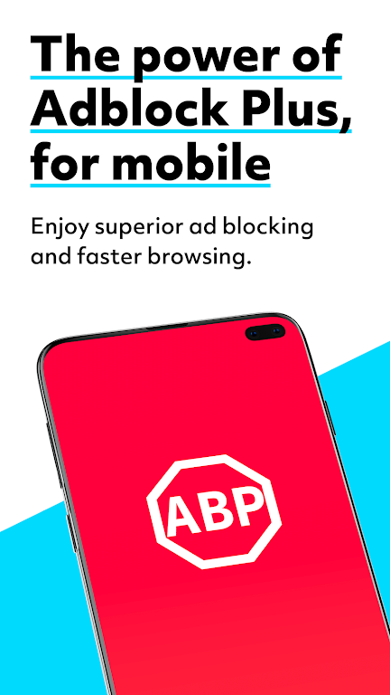 Adblock Browser Beta: Block ads, browse faster  poster 0