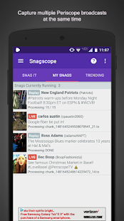 Snagscope Screenshot