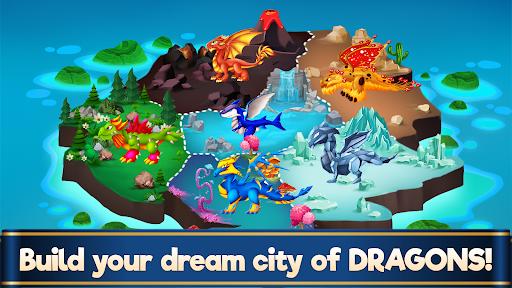 Dragon Paradise City: Breeding War Game  screenshots 2