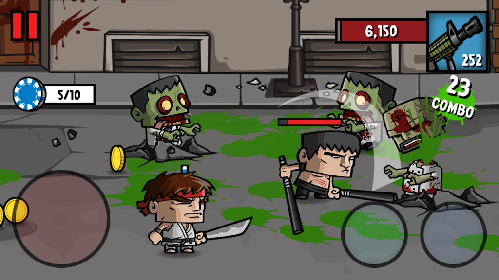 Zombie Age 3: Shooting Walking Zombie: Dead City  poster 3
