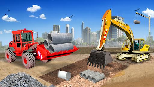 Heavy Construction Simulator Game: Excavator Games 1.0.1 screenshots 8