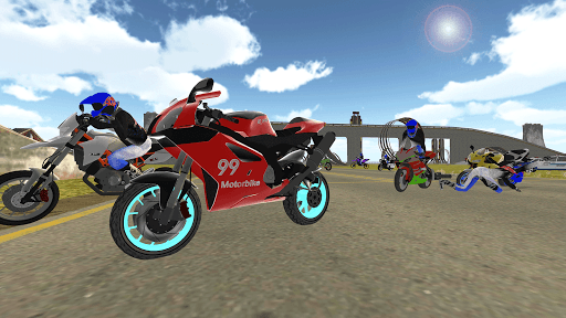 Bike Rider VS Cop Car - Police Chase & Escape Game Apkfinish screenshots 12
