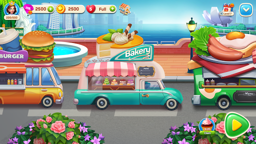 Cooking Travel - Food truck fast restaurant android2mod screenshots 10