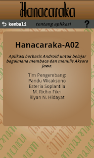 Hanacaraka Screenshot