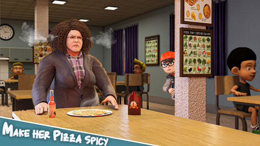 Scare Scary Bad Teacher 3D - Spooky & Scary Games screenshots 8