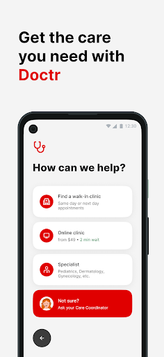 Doctr screenshot for Android