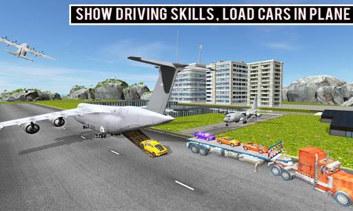 modern car transporter plane screenshot 1