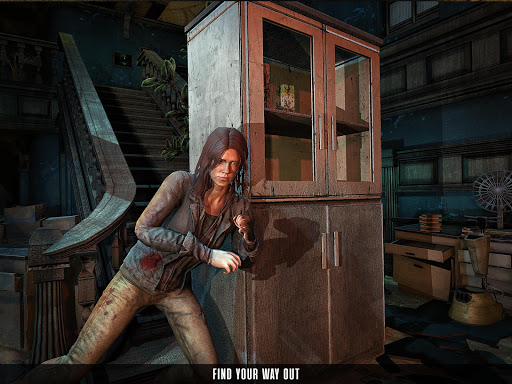 Scary Granny's Game - Haunted House Horror Games  screenshots 5