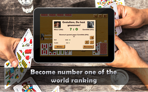 Schnapsen, 66, Sixty-Six - Free Card Game Online 2.94 screenshots 10