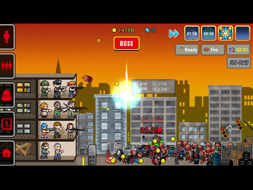 Code Triche 100 DAYS - Zombie Survival APK MOD (Astuce) screenshots 3