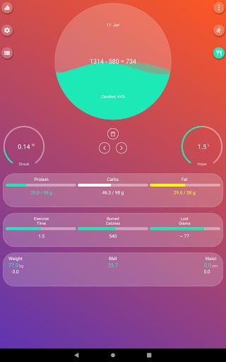 Calorie Counter - EasyFit free 4.0 Screenshots 7