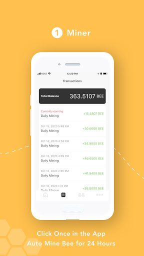 Bee Network:Phone-based Digital Currency 1.2.0 screenshots 2