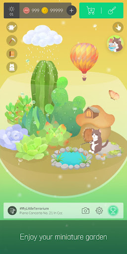 My Little Terrarium - Garden Idle screenshots 1