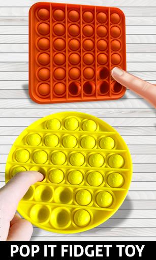 Anti stress fidgets 3D cubes - calming games  screenshots 2