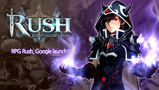 RUSH : Rise up special heroes Screenshot